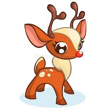 christmas reindeer christmas reindeer vector illustration stock vector