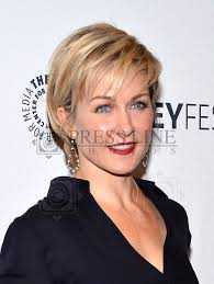 back view of amy carlson s hair 2nd annual paleyfest new york presents blue bloods press line