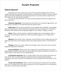 sample proposal 6 documents in pdf word