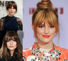 hairstyles with bangs to freshen up your looks hairdrome com