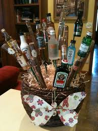 cigar gift baskets my booze and cigar gift basket for the golf tournament and wine