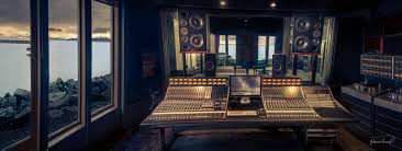 Recording Studio Desk Design by Striking A Chord Recording Studios That Sync Design And Function