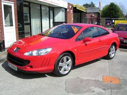 peugeot 407 hdi used peugeot 407 coupe 2 0 hdi bellagio 2dr in crewe cheshire
