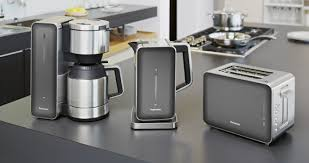 Silver Toaster And Kettle Set Panasonic