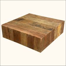Extra Large Square Coffee Tables - coffee table cream wood coffee table unusual wood coffee tables