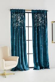 Teal Curtain Curtains Drapes Window Treatments Anthropologie