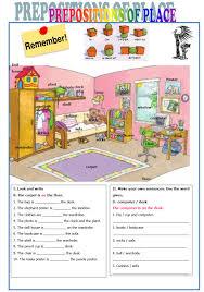 Preposition Practice Worksheets Výsledek Obrázku Pro Prepositions Of Place Worksheet