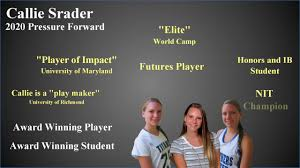 Video Resume Maker Callie Srader 2020 Field Hockey Video Resume In 2 Minutes Youtube