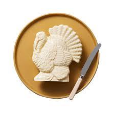 turkey butter mold 4 turkey shaped foods that will make your thanksgiving martha stewart