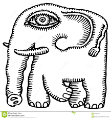 african elephant drawing royalty free stock photo image 10186115