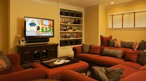 living room ideas with brick fireplace and tv house interior