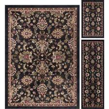 Area Rug Sets Rug Sets Black Area Rugs Rugs The Home Depot
