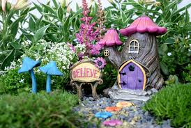 terrace and garden small diy maushroom fairy garden ideas 20