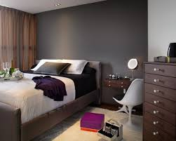Grey And Brown Bedroom by Exciting Dark Gray Accent Wall 85 In Home Decor Ideas With Dark
