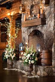 rustic fireplace mantel shelves wood oak shelf screen hearth decor