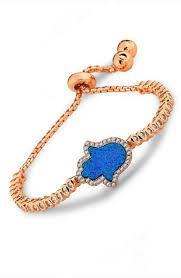sterling silver rose gold bracelet images 925 sterling silver rose plated micro set hand bracelet jpg