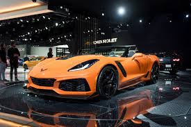 chevy supercar 2019 corvette zr1 convertible revealed in los angeles gm authority