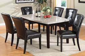 Marble Top Dining Room Table Sets Marble Top Pedestal Dining Room Sets Leandrocortese Info