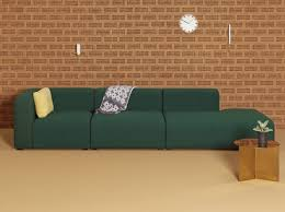 hay canap canape modulable vert hay salon living room