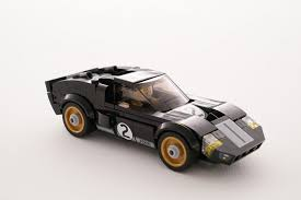 nissan lego 2016 ford gt and gt40 race cars get immortalized in lego
