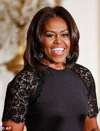 ms obamas hair new cut michelle obama s hair makes her look almost bald on jeopardy