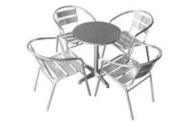 Aluminium Bistro Chairs Chair Hire
