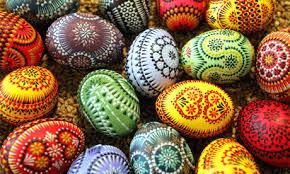 fancy easter eggs easter eggs megan webb