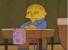 simpsons valentines day card s day for