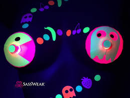 led light up pasties pacman led pasties light up pac man costume pac man cosplay