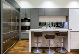 designer kitchens manchester poggenpohl manchester studio gray white stainless steel
