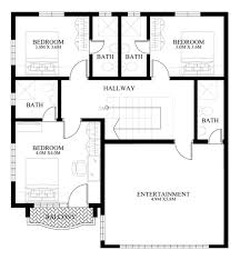 modern 2 story house plans 50 images of 15 two storey modern houses with floor plans and