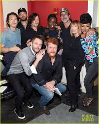 new walking dead cast 2016 the walking dead premieres new season 7 clip filled with spoilers