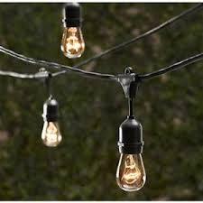 led vintage patio light strand 30 5 u0027 clear 1 set