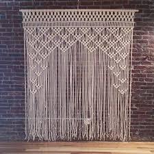 wedding backdrop measurements mueller macrame backdrop custom macrame backdrop measures 6 wide