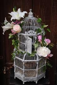 Decorative Bird Cages For Centerpieces by Birdcage Arrangement Bird Cages Bird And Flower