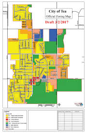 Sioux Falls Map City Of Tea Releases Updated Zoning Map Tea Weekly