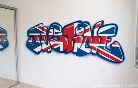 deco chambre anglais chambre de justine en chambre graffiti