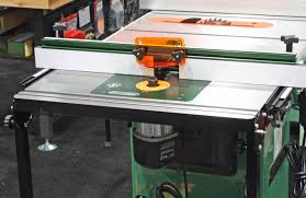 table saw router table awfs space saving router table makes no compromises finewoodworking