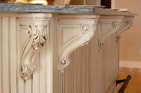 carved corbels on kitchen island with foot rest tree city u2026 flickr