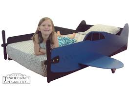 Plane Themed Bedroom by Aircraft Twin Kids Bed Frame Handcrafted Airplane Themed