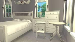 exellent ikea bedroom set bed frame blackbrown furniturehemnes