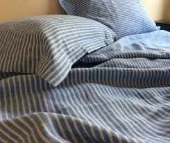 Blue Linen Bedding - superiorcustomlinens blog handmade linen bedding baby bedding