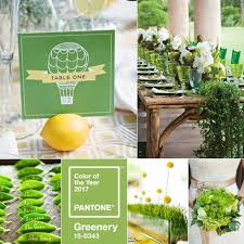pantone u0027s color of the year 2017 is greenery white cat wedding