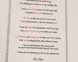 asking bridesmaids poems bridesmaid poem etsy