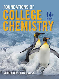 hein foundations of college chemistry 14th 2014 chemical
