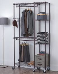free standing closet rack wayfair