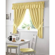 Blue And Yellow Kitchen Curtains Decorating Decorating With Yellow And Sustainablepals Org