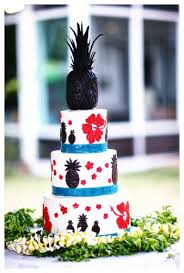 creative cake toppers succulents bird motifs pineapple bridal
