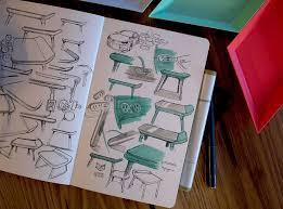 bureau coloré trmnl le bureau coloré par creative session sketches product