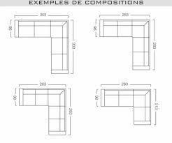 taille canapé 3 places dimension canape d angle on decoration interieur moderne en ce qui
